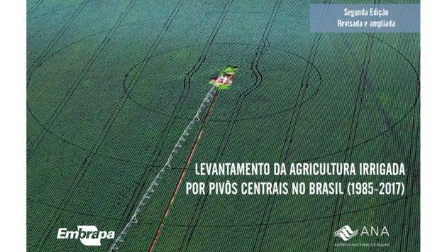 ANA e EMBRAPA identificam forte tendência de crescimento da agricultura irrigada por pivôs centrais