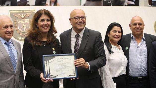 Diretora da ASPIPP recebe menção honrosa da Assembleia Legislativa do Paraná