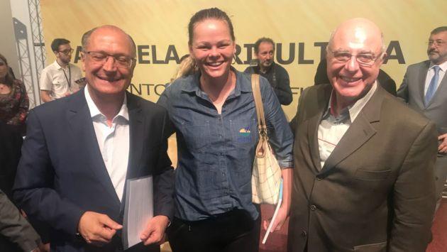 Alckmin e Jardim autorizam a criação da Câmara Setorial da Agricultura Irrigada