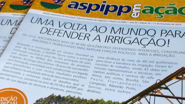 ASPIPP lança boletim especial de prestação de contas 2018