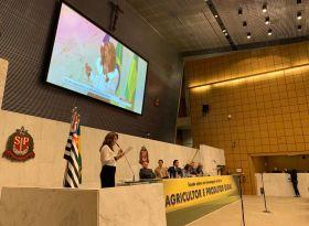 Diretores da ASPIPP e associados participam de homenagem ao Dia do Agricultor na ALESP