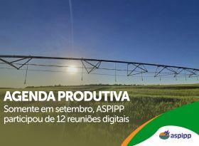 ASPIPP mantém agenda produtiva e ativa em defesa do setor de irrigação