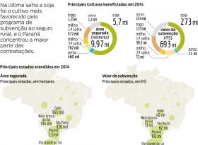 Seguro rural americano serve de modelo para o avanço no Brasil