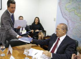 Ministro Eliseu Padilha  analisa retorno da política  de irrigação para o Ministério da Agricultura