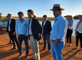 ASPIPP recebe ministro Ricardo Salles e deputado Frederico D'Avila para discutir pauta da irrigação
